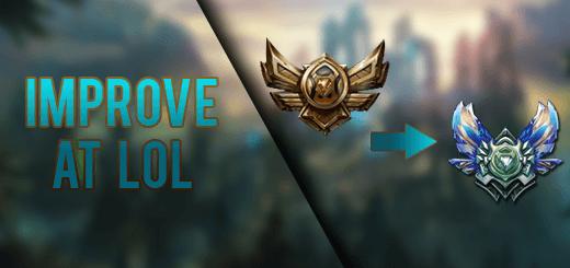 Improve playing League of Legends meme Bronze to Diamond badge