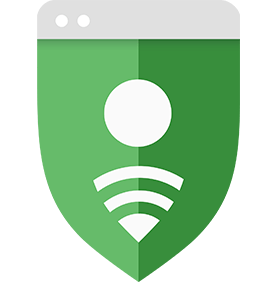 Shield icon emphasizing account protection
