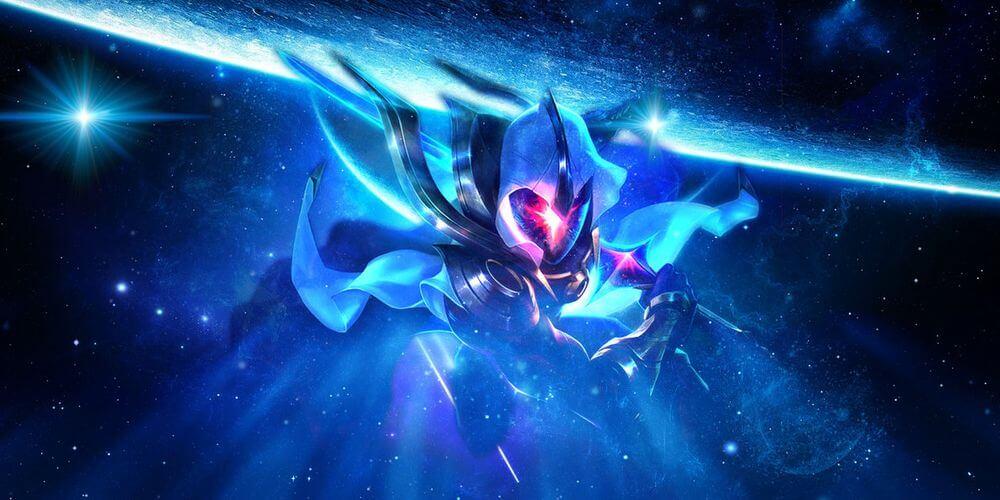 Cosmic Blade Yi Skin Artwork