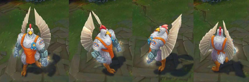 Birdio-skin