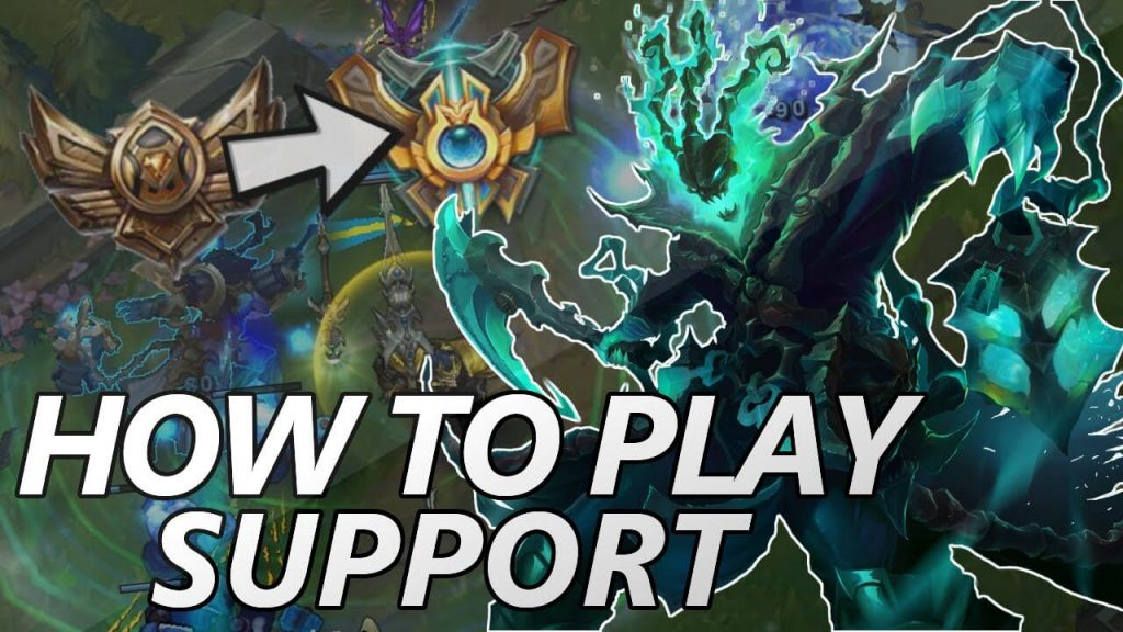 Playing Support in League of Legends