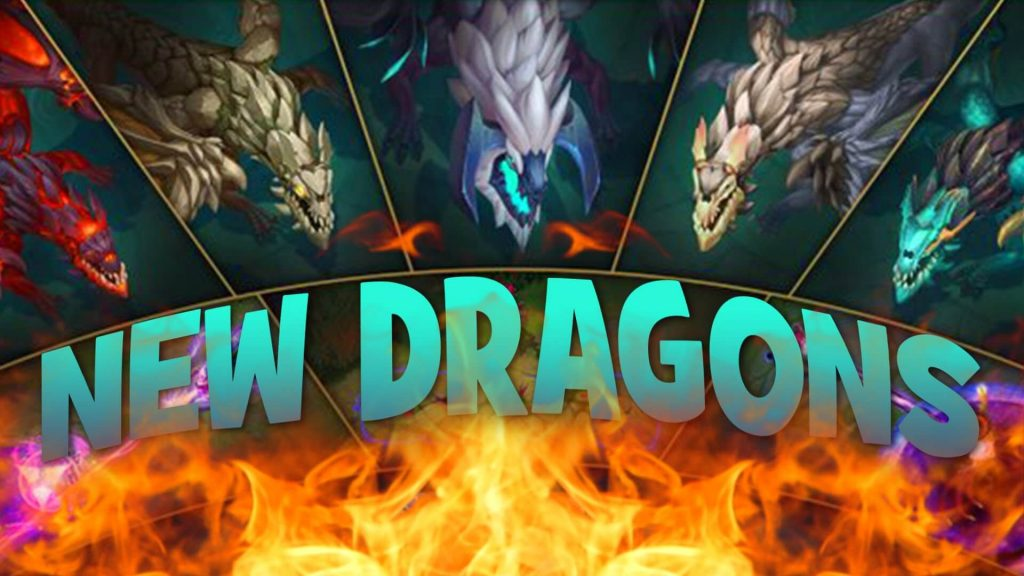 League of Legends-5 New Dragons