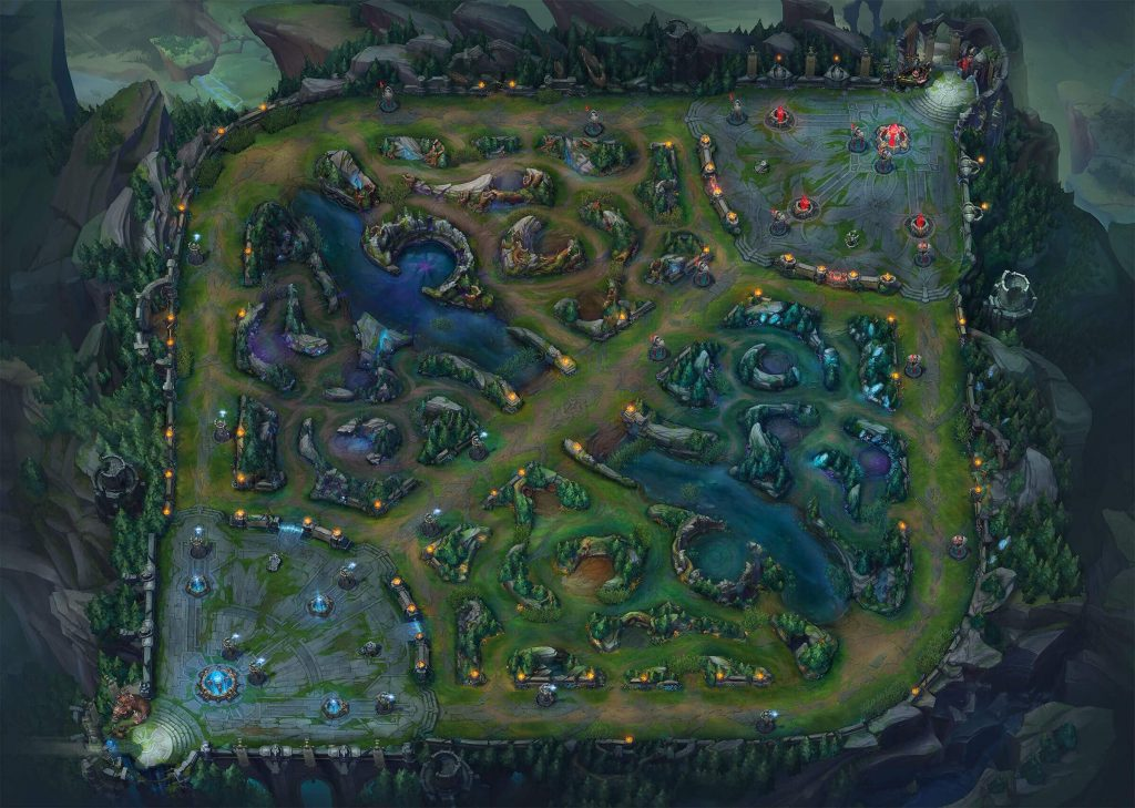 Summoners-Rift-Overview-League-of-Legends-Artwork