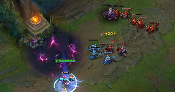 Tips for League of Legends Beginner - Last Hitting Minions