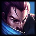 Icon showing the League of Legends Champion Yasuo