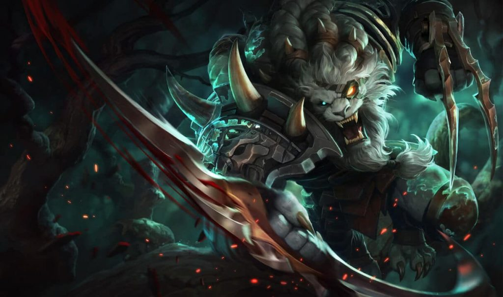 win hard with rengar