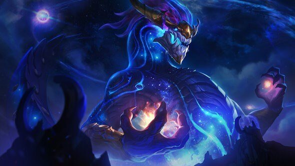 The Star Forger Aurelion Sol