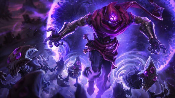 The prophet of the void Malzahar