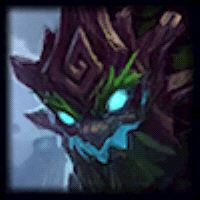 Icon showing League of Legends Champion Maokai