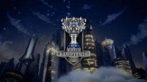 League of Legends World Championship 2018 official trophy