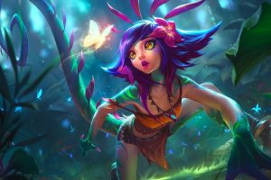 Neeko LOL Splash -League of Legends