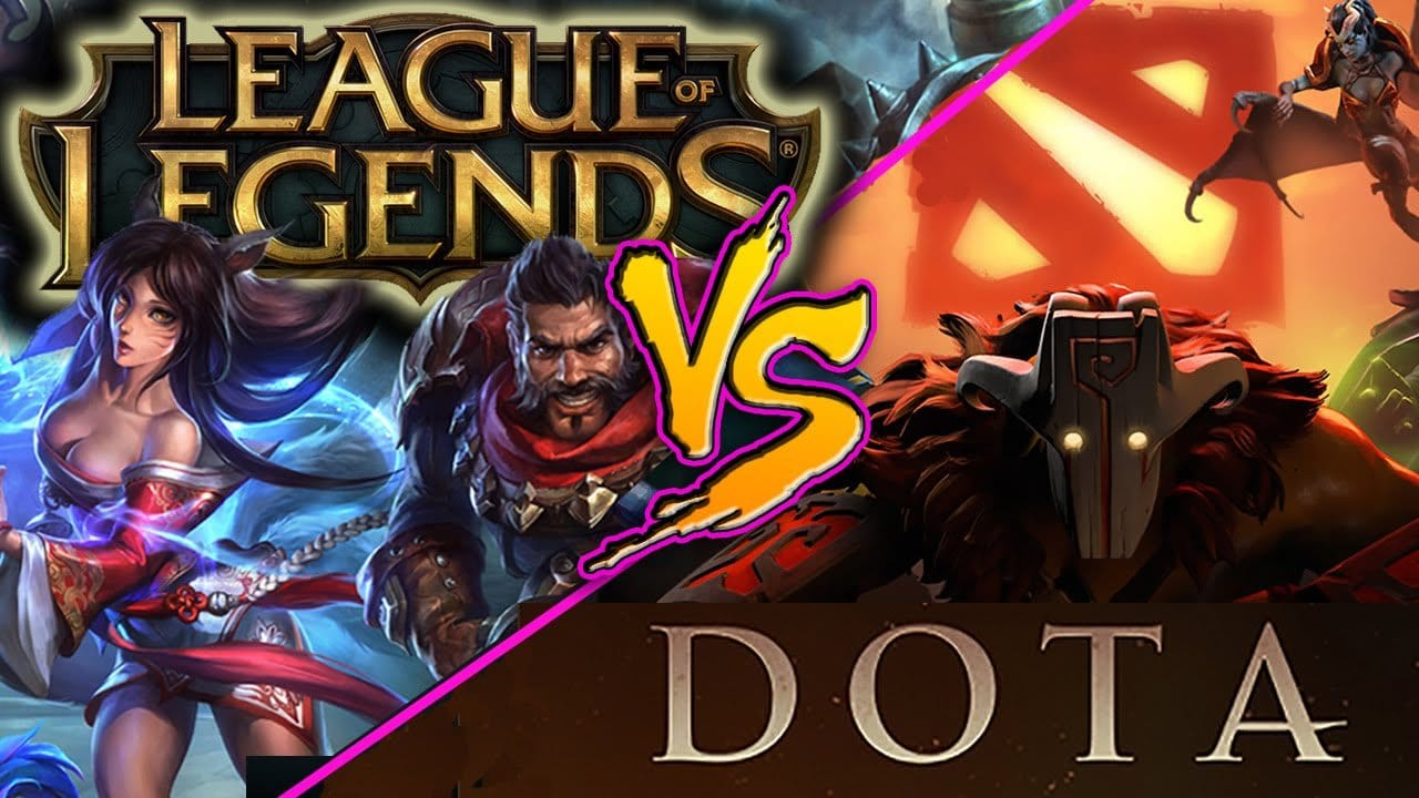 Dota 2 Oder League Of Legends