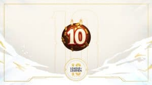 10 years Anniversary for League of Legends