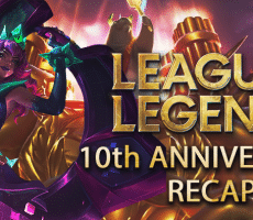 League of Legends 10th Anniversary Recap