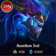 lol sale Aurelion Sol