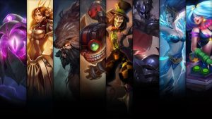 Buy Skins for the starting ChampionsLeague of Legends