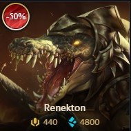 lol sale Renekton