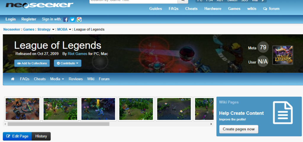 Neosekeer's Forums League of Legends Page