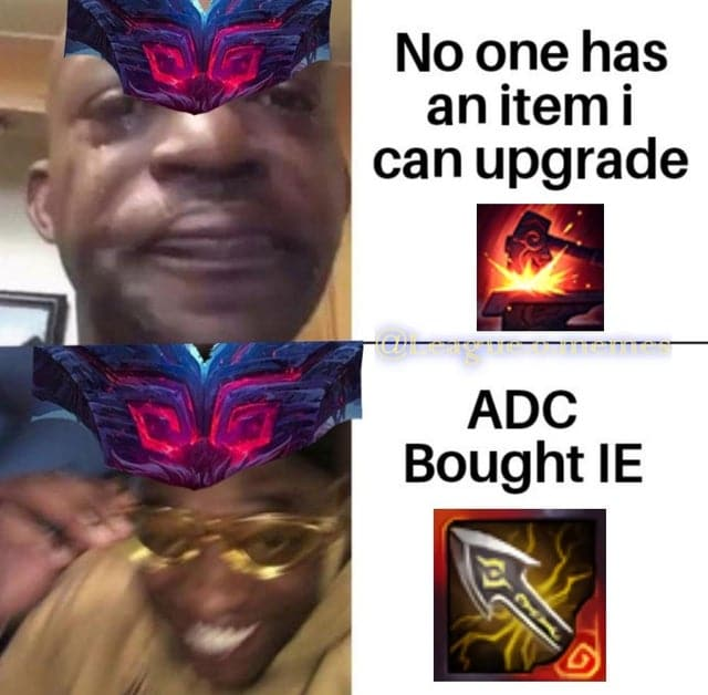 Ornn getting excited that somebody bought an upgradeable item