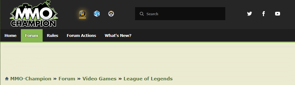 MMO-Champion's League of Legends Forum Page