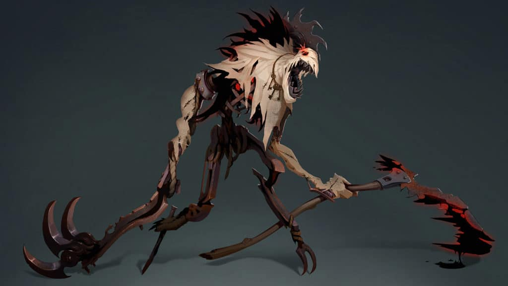 Fiddlestick rework concept art from the development team in Riot Games.
