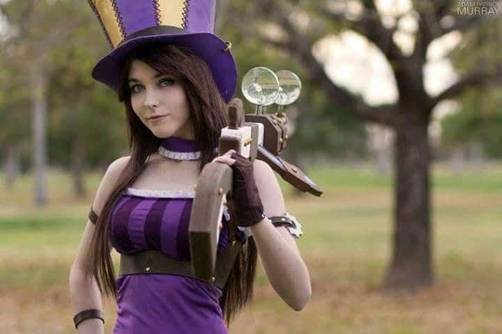 Photoshoot of Caitlyn cosplayer