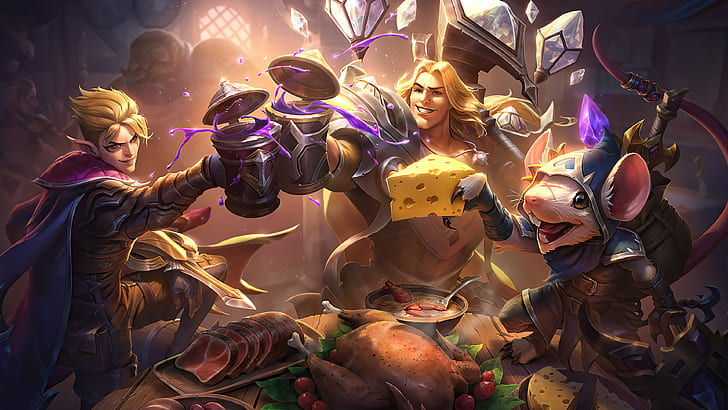Talon, Taric, and Twitch Toasting