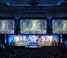 League of Legends eSports Scene