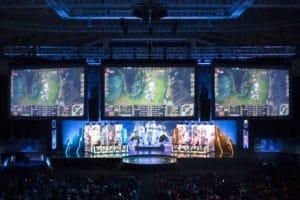 League of Legends eSports 2020 Scene