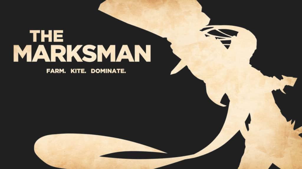 Silhouette of Lucian in Marksman Wallpaper