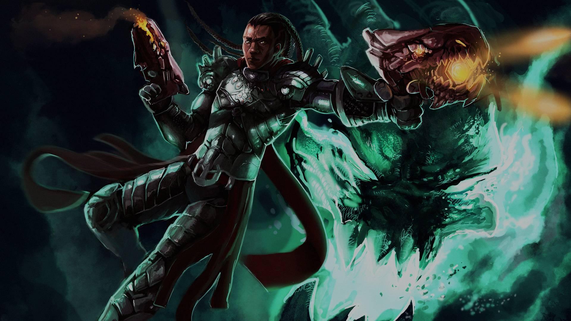 League of Legends Champion Lucian Fanart Wallpaper