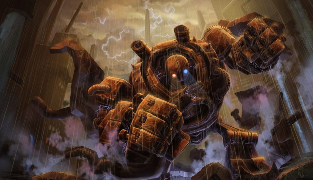 League of Legends rarest skin Rusty Blitzcrank, Blitzcrank looking really aged and worn