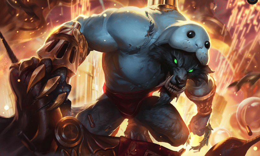 Urfwick, warwick wearing urf as clothing