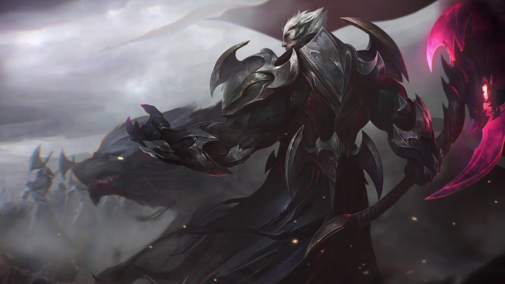 Image showing official art from God-King Darius