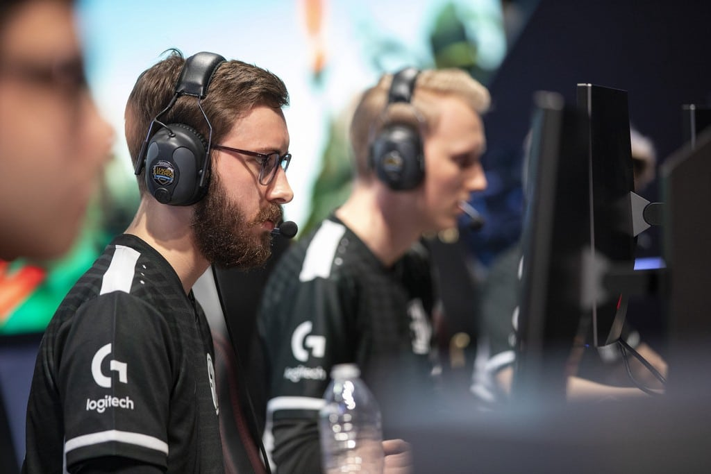 EUNE Players Bjergsen and Zven playing for Team SoloMid