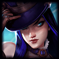 Champion close up photo of Caitlyn in ADC Tier List