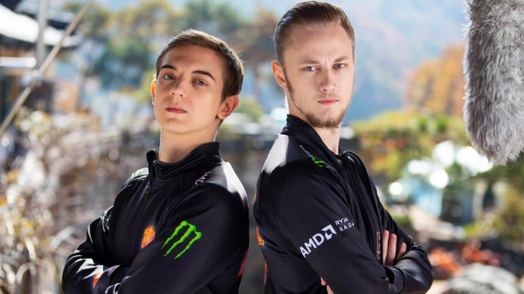 EUNE Players Caps and Rekkles playing for Fnatic