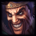 Champion close up photo of Draven in ADC Tier List