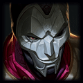 Champion close up photo of jhin in ADC Tier List