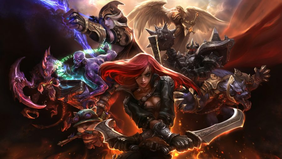 List of League of Legends Champions by class and role