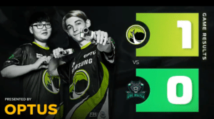 Legacy Esports' Victory Banner