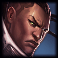 Champion close up photo of Lucian in ADC Tier List