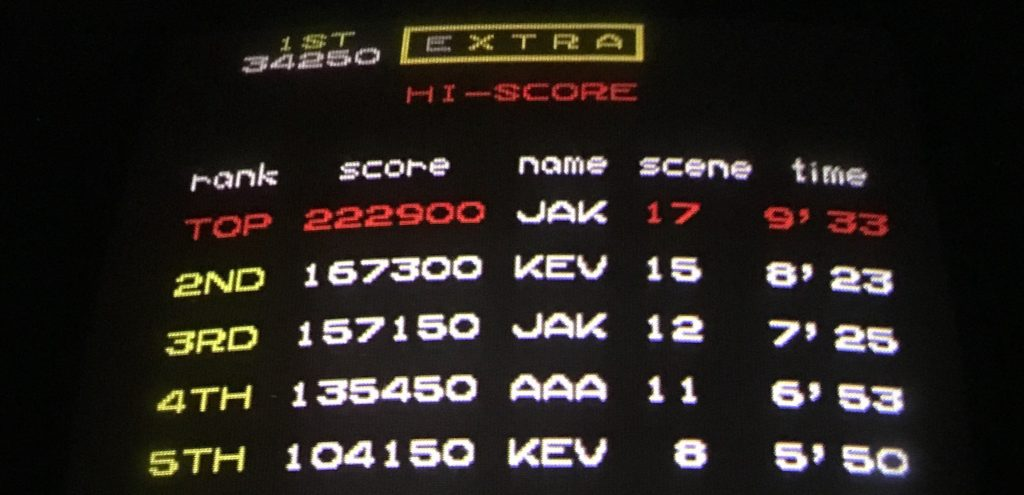 An image showing scoreboards from gaming arcades.