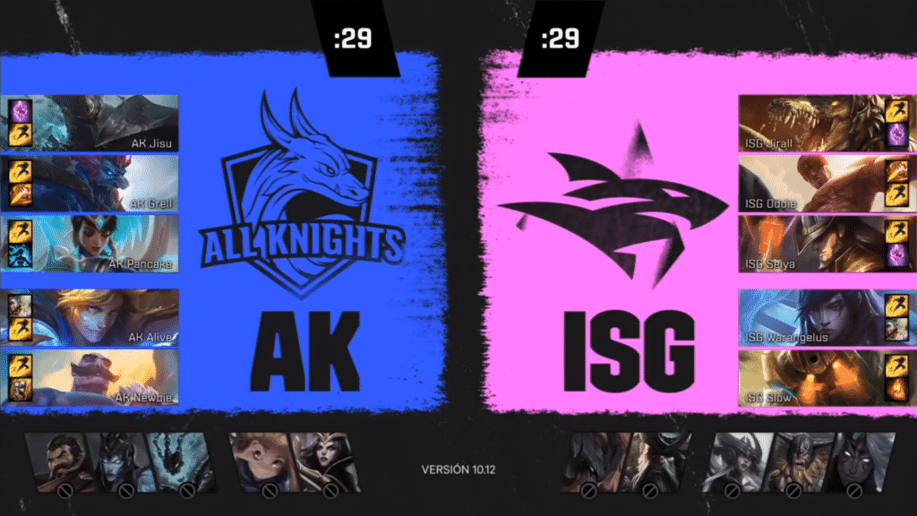 Highlight Match between All Knights vs Isurus