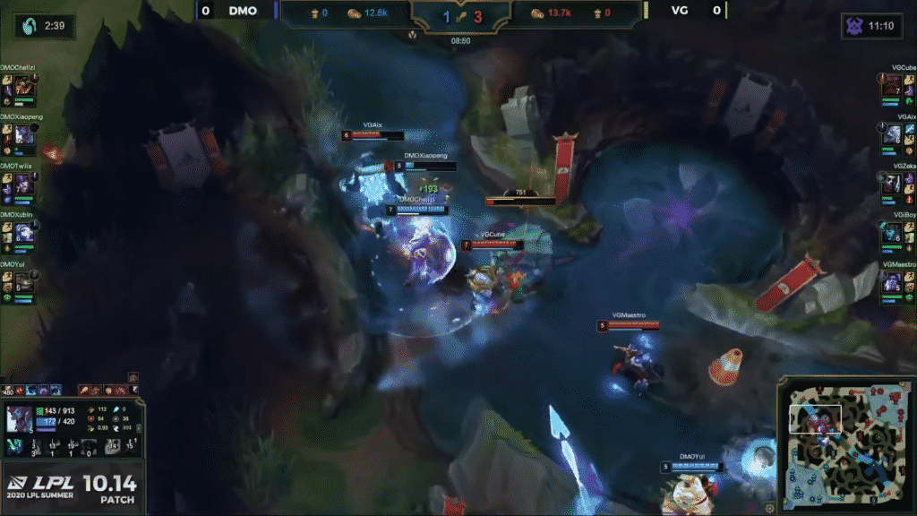 VG and OMG Clashing in front of the Rift Herald