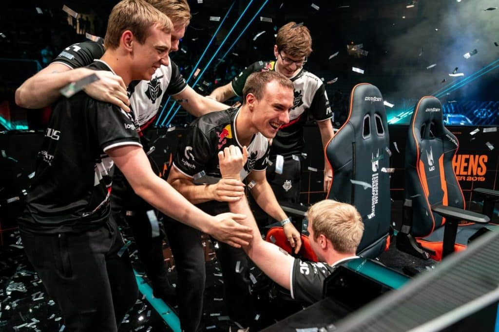 G2 Esports Victory Moment