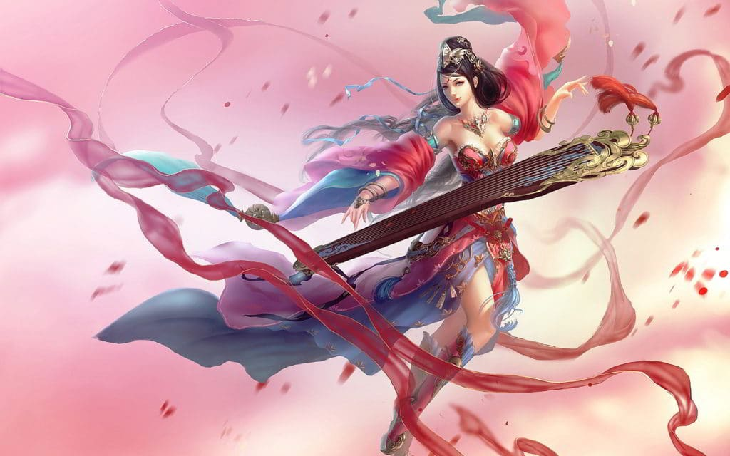 Ionian Sona with Cherry Blossom Setting