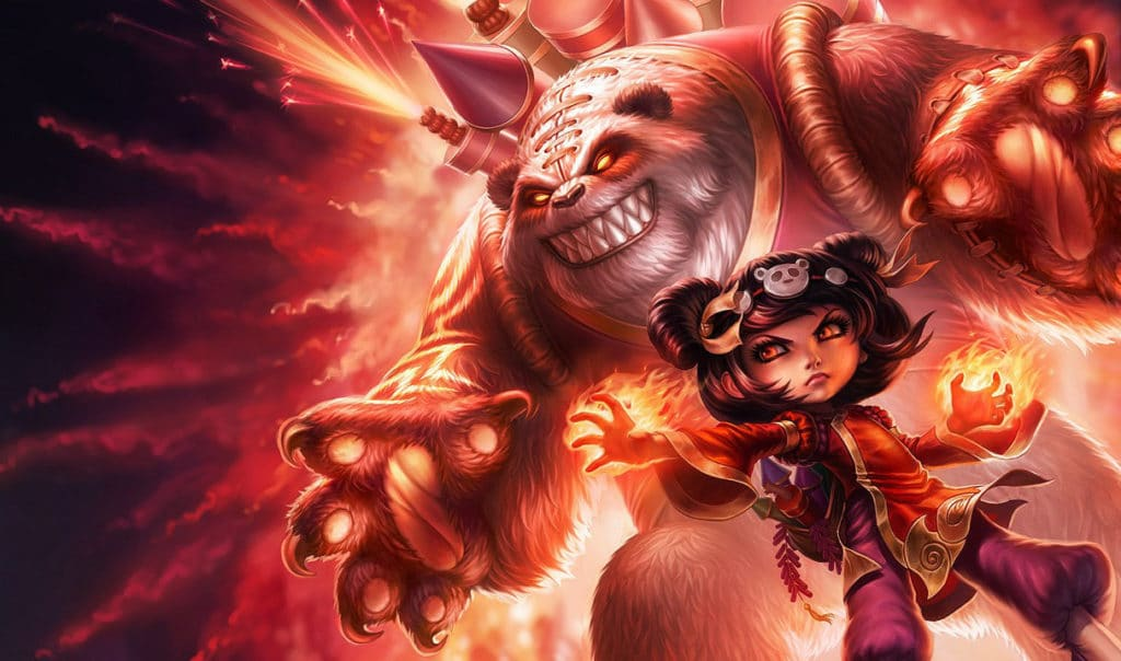 Panda Annie with Zombie Tibbers Costume Annie Guide