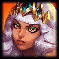 icon of Qiyana, Empress of the Elements