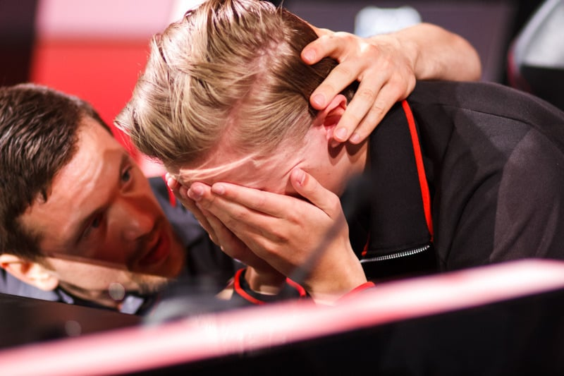 Rekkles Crying after losing